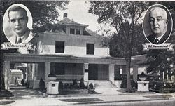 Byrd-Cochran Mortuary in 1928 located at 1411 N. Lawrence Ave. (Now Broadway Ave.)